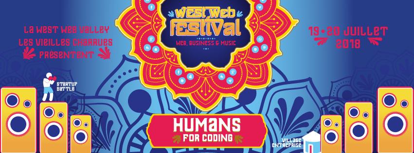 Les 7 Technopoles de Bretagne, partenaires du West Web Festival