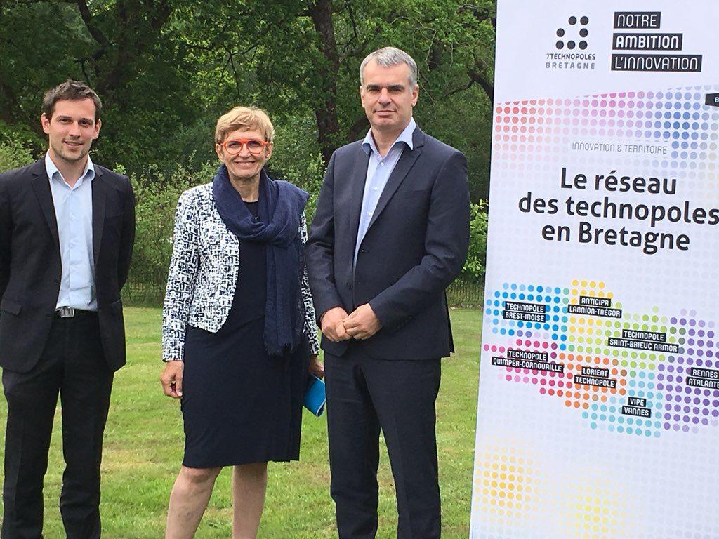 Assemblée Générale & bilan 2017 des 7 Technopoles de Bretagne : Olivier Le Strat élu nouveau Président