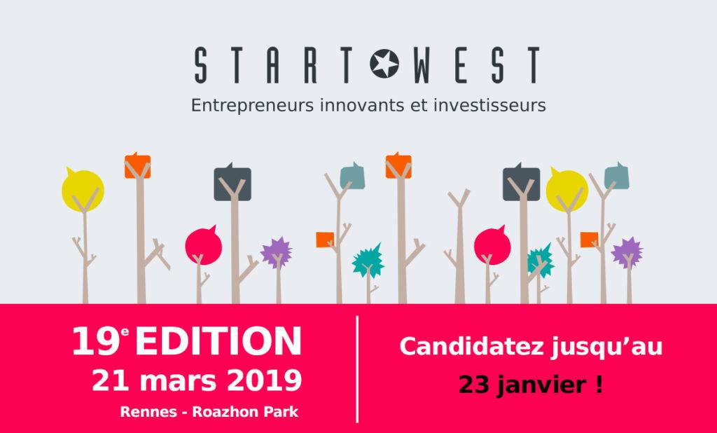 START-WEST 2019 : candidatez jusqu'au 23 janvier !