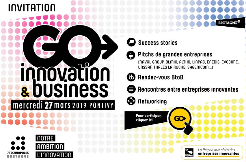 GO INNOVATION & BUSINESS : INSCRIVEZ-VOUS !