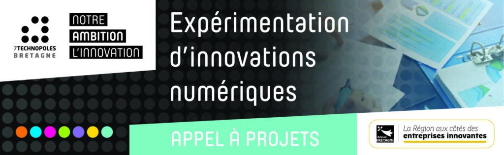 Appel à projets | Expérimentation d'Innovations Numériques #6 de la Région Bretagne