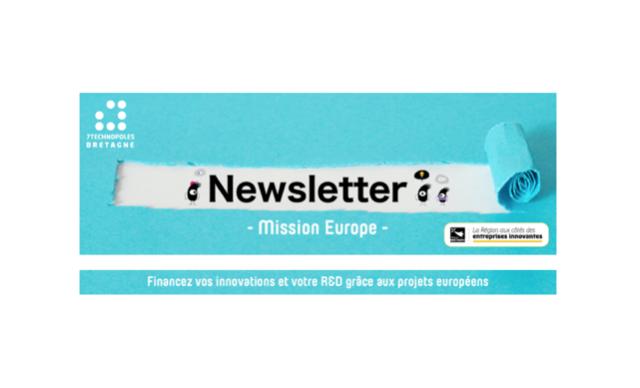 Newsletter #1 - Mission Europe - A la découverte des opportunités européennes