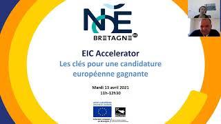 [REPLAY] Webinaire « EIC Accelerator : les clés pour une candidature européenne gagnante » ?